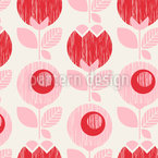 Fifties Flowers Design Pattern