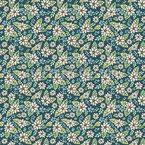 Die Schönheit Der Blumen Nahtloses Vektor Muster