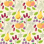 Chant de fruits Motif Vectoriel Sans Couture