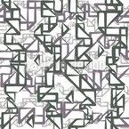 Origami Tetris Estampado Vectorial Sin Costura