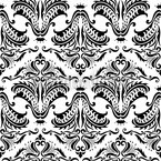 Opulence White Seamless Vector Pattern Design