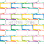 Brick Wall Seamless Vector Pattern Design