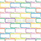Ziegelmauer Nahtloses Vektormuster