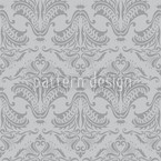 Opulence Grey Seamless Vector Pattern Design