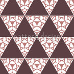 Triangles Up And Down Seamless Vector Pattern Design