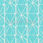 Striped Ikat Seamless Vector Pattern