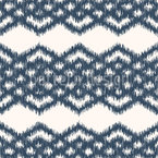 Ikat Diamond Bordures Seamless Vector Pattern Design