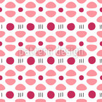 I See Flowers Seamless Pattern