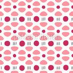 Ich Sehe Blumen Nahtloses Muster
