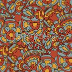 Maya Tale Seamless Vector Pattern Design
