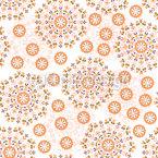Круглые слои Бесшовный дизайн векторных узоров