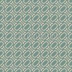 Formas Ornamentais Redondas Design de padrão vetorial sem costura