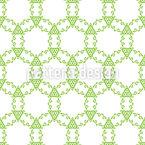 Circling Spring Seamless Vector Pattern