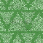 Our Christmas Tree Seamless Vector Pattern Design