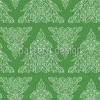 Unser Weihnachtsbaum Nahtloses Vektormuster