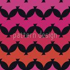 Sunset Chevron Seamless Vector Pattern Design