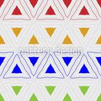 So Viele Dreiecke Musterdesign