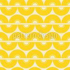 Citron Sixties Motif Vectoriel Sans Couture