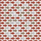 Fische Kennen Den Weg Muster Design