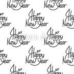 Frohes Neues Jahr An Dich Vektor Design