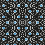Gerahmte Formen Vektor Muster