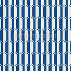 Sechziger-Dekoration Nahtloses Vektormuster