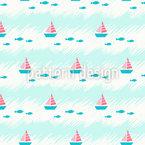 Niedliches Meer Nahtloses Muster