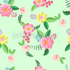 Shabby Chic Style Repeating Pattern