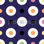 Funny Dots Seamless Vector Pattern Design