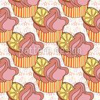 Der Sternen Muffin Muster Design