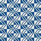 Retro Plaid Silhouettes Design Pattern