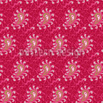 Floral Waves Seamless Vector Pattern Design
