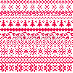 Nordic Lifestyle Seamless Vector Pattern Design