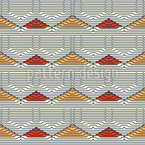幾何学的な美しさ シームレスなベクトルパターン設計
