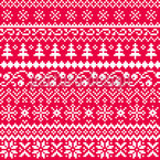 Nordic Style Seamless Vector Pattern Design