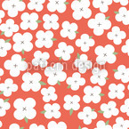 Cherryblossom Sea Seamless Vector Pattern Design