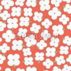 Kirschblütenmeer Nahtloses Vektormuster