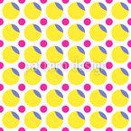 Doce Dots Design de padrão vetorial sem costura