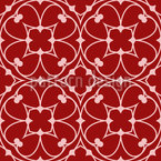Floral Gothic Vector Pattern
