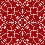 الأزهار القوطية تصميم نمط ناقلات سلس
