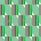 Listras de retalhos e xadrez Design de padrão vetorial sem costura