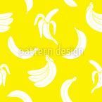 Banane Über Banane Rapportiertes Design