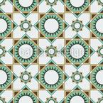 Quadratische Formen und Sonnen Muster Design