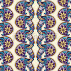 Paisley Bordures Seamless Vector Pattern Design