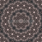 Mysterious Beauty Seamless Pattern