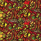 Doodleland Seamless Vector Pattern Design