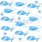 Fantastische Fische Vektor Muster