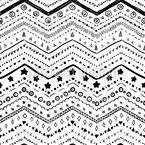 Зигзаг Бордурес Бесшовный дизайн векторных узоров