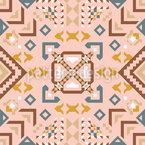 Fliegender Teppich Vektor Ornament