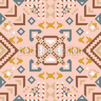 Flying Carpet Seamless Vector Pattern Design
